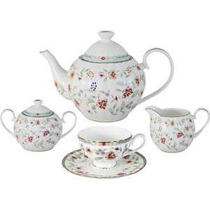 Чайный сервиз Colombo ''Грейс'' из 15 предметов на 6 персон (C2-TS/15-4307AL)