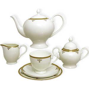 Чайный сервиз Emerald ''Ампир'' из 40 предметов на 12 персон (E5-09-24/40-AL)