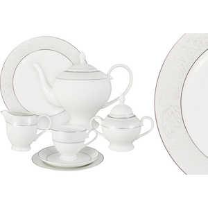 Чайный сервиз Emerald ''Мелисента'' из 40 предметов на 12 персон (E5-14-310/40-AL)
