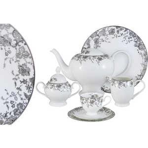Чайный сервиз Emerald Эстель из 40 предметов на 12 персон (E5-14-601/40-AL) сервиз набор emerald чайный сервиз эстель 21 предмет на 6 персон e5 14 601 21 al