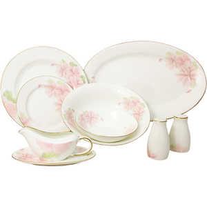 Обеденный сервиз Emerald ''Розовые цветы'' из 50 предметов на 12 персон (E5-HV004011/50-AL)