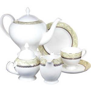 Чайный сервиз Emerald ''Романтика'' из 21 предмета на 6 персон (E5-HV005011/21-AL)
