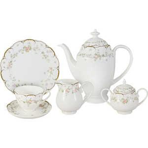 Чайный сервиз Emerald ''Розмари'' из 21 предмета на 6 персон (E6-L12KJ05/21AL)