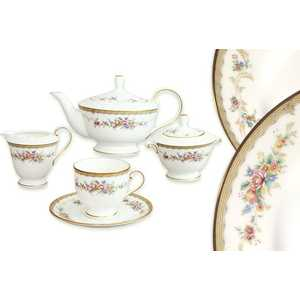 Чайный сервиз Narumi ''Наслаждение'' из 17 предметов на 6 персон (N51229-52302AL)