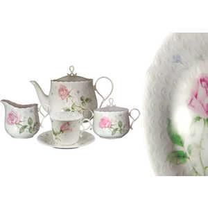 Чайный сервиз Narumi Апрельская роза из 17 предметов на 6 пресон (N9113-52499AL)