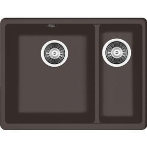 Мойка кухонная Florentina Вега 335/160 мокко FSm подстольная (22.325.D0510.303)  florentina вега 500 грей fsm подстольная 22 320 d0500 305