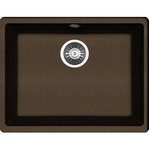 Мойка кухонная Florentina Вега 500 коричневый FG подстольная (22.320.D0500.105) мойка кухонная florentina вега 500 жасмин
