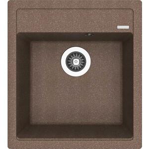 Мойка кухонная Florentina Липси 460 коричневый FG (20.280.В0460.105) цена и фото