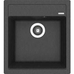 Мойка кухонная Florentina Липси 460 черный FG (20.280.В0460.102) цена и фото