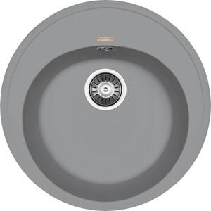 Мойка кухонная Florentina Лотос D510 грей FSm (20.290.В0510.305)  florentina лотос 510 чёрный