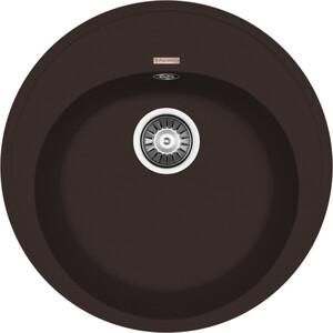 Мойка кухонная Florentina Лотос D510 мокко FSm (20.290.В0510.303)  florentina лотос 510 чёрный