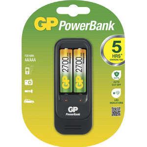 Зарядное устройство и аккумулятор GP PowerBank PB560GS270 + 2700mAh AA 2шт.