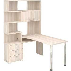 Стол компьютерный МЭРДЭС СР-420/130 К-ЛЕВ стол компьютерный мэрдэс ср 420 150 нбен прав