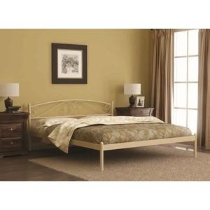 Кровать Стиллмет Оптима коричневый бархат 140х200