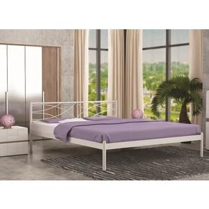 Кровать Стиллмет Экзотика коричневый бархат 180х200