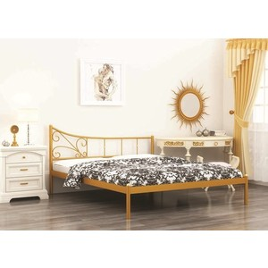 Кровать Стиллмет Лилия черный 140х200