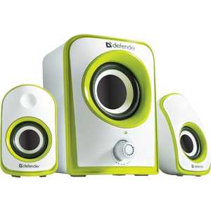 Колонки Defender JamSation S10 White-Green (65610)