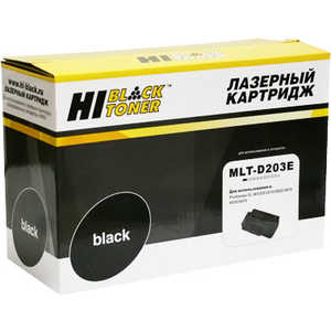 Картридж Hi-Black MLT-D203E (980520104) sakura mlt d203e black тонер картридж для samsung sl m3820 m3870 m4020 m4070 m4072