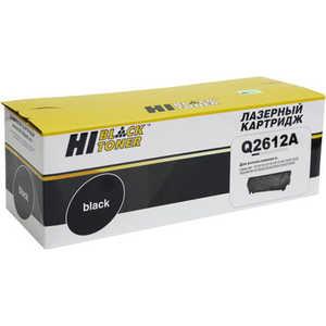 Картридж Hi-Black Q2612A (20013012) тарелка хай хэт zultan 14 q hi hat