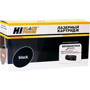 Картридж Hi-Black Q5949A/Q7553A (200130143) тарелка хай хэт zultan 14 q hi hat
