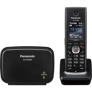 SIP телефон Panasonic KX-TGP600RUB атс panasonic kx tem824ru аналоговая 6 внешних и 16 внутренних линий предельная ёмкость 8 внешних и 24 внутренних линий