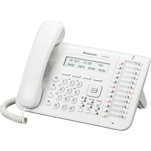 Системный телефон Panasonic KX-DT543RU системный телефон panasonic kx dt543rub черный [kx dt543ru b]