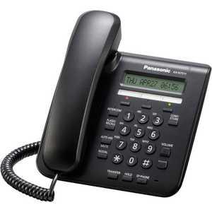 Системный телефон Panasonic KX-NT511ARUB атс panasonic kx tem824ru аналоговая 6 внешних и 16 внутренних линий предельная ёмкость 8 внешних и 24 внутренних линий
