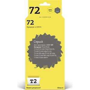 Картридж T2 C9374A (IC-H9374) чернильный картридж hp c9374a grey