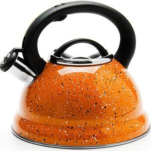 Чайник металлический со свистком 2.8 л Mayer and Boch (MB-24970)