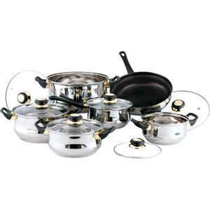 Набор посуды из 12 предметов Bekker Classic (BK-224) набор посуды bekker bk 3618