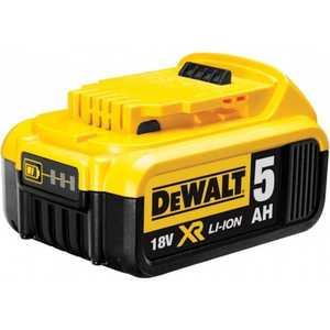 Аккумулятор DeWALT 18В 5Ач Li-ion XR -серия (DCB184) набор дрелей шуруповертов aeg jp2b 18li 18в li ion 1акб