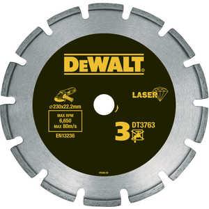 Диск алмазный DeWALT 230х22.2мм (DT3763) насос dewalt d215824
