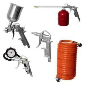 Набор пневмоинструмента Elitech 5 предметов (0704.000101)
