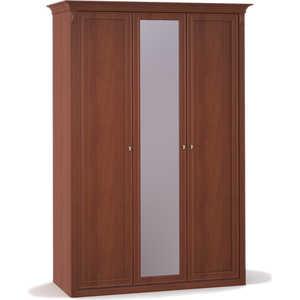 Шкаф Шатура ''Diamante Орех'' 3 дверный (1+2) с зеркалом 355018