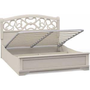 Кровать Шатура ''Tiffany Ясень'' 2 спальная с подъёмным механизмом вставка ясень 1600мм 420332