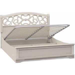 Кровать Шатура ''Tiffany Ясень'' 2 спальная с подъёмным механизмом вставка ясень 1800мм 420331