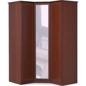 Шкаф угловой Шатура ''Камелия'' 1 дверный+угловой с зеркалом+1 дверный 377881