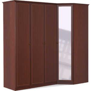 Шкаф угловой Шатура ''Камелия'' 3 дверный+угловой с зеркалом 377924
