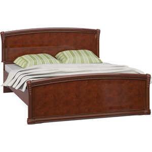 Кровать Шатура ''Лорена тёмная'' 2 спальная 1600мм 463633