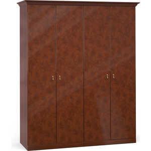 Шкаф Шатура ''Лорена тёмная'' 4 дверный (2+2) 470896