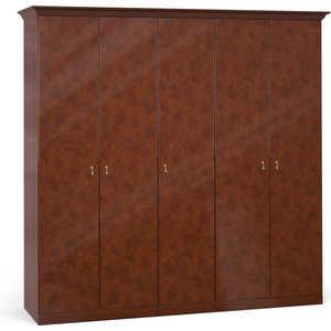 Шкаф Шатура ''Лорена тёмная'' 5 дверный (2+1+2) 470897