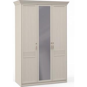 Шкаф Шатура ''Лючия светлая'' 3 дверный (1+2) с зеркалом 421760