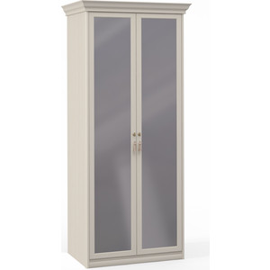 Шкаф Шатура ''Лючия светлая'' 2 дверный с зеркалом 421756