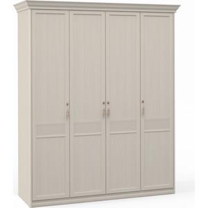 Шкаф Шатура Лючия светлая 4 дверный (1+2+1) 421761