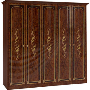 Шкаф Шатура Флоренция-М 5 дверный (2+1+2) 242711