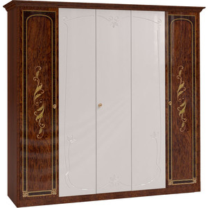 Шкаф Шатура ''Флоренция-М'' 5 дверный (2+1+2) с 3 зеркалами 242718