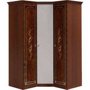Шкаф угловой Шатура ''Флоренция-М'' Композиция №07 1 дверный+угловой с зеркалом+1 дверный 284313