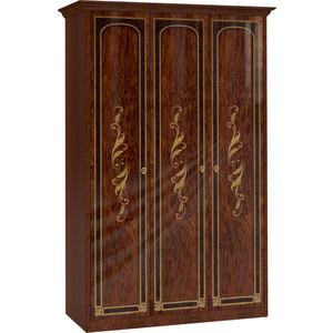 Шкаф Шатура Флоренция-М Шкаф 3 дверный (1+2) 237271 карниз шатура флоренция м для композиции угловой шкаф 297206
