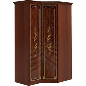Шкаф угловой Шатура Флоренция-М Композиция №22 1 дверный+угловой 284358 карниз шатура флоренция м для композиции угловой шкаф 297206