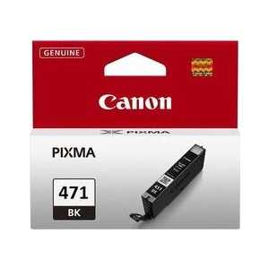 Картридж Canon CLI-471BK (0400C001) картридж для струйного принтера canon cli 471 multipack c m y bk